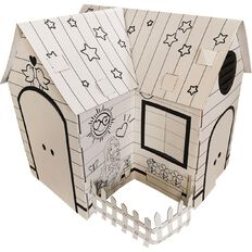 Barbie DIY Colouring Playhouse