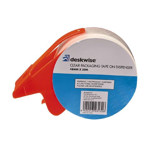 No Brand Clear Packing Tape On Dispenser 48mm  x  50m