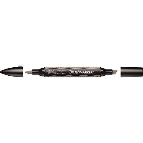 Winsor & Newton Brushmarker Single Warm Grey 2