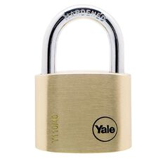Yale 110 Series Padlock Brass 40mm