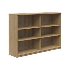 Mascot Bookcase Cabinet Classic Oak 1200x1800