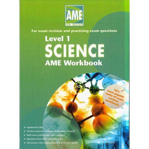 Ncea Year 11 Science Workbook