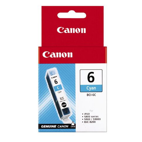 Canon Ink BCI6 Cyan (570 Pages)
