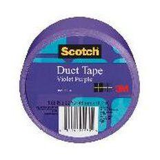 Scotch Coloured Duct Tape 48mm x 18.2m Purple