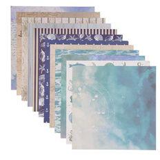Uniti Designer Paper 12x12in 12 Sheets Oceania