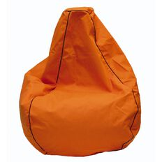 Canvas Bean Bag Prefilled Orange 200L