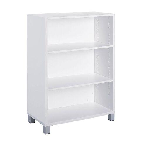 Cubit Bookcase 1200 White White