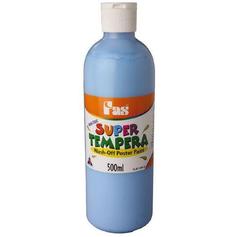 FAS Paint Super Tempera 500ml Cobalt Blue 500ml