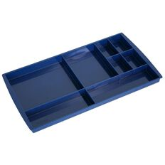 Esselte Nouveau Drawer Tidy Directors Blue