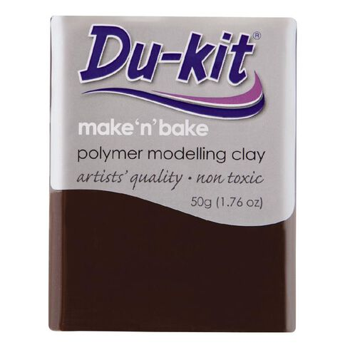 Du-kit Clay Dark Brown 50g