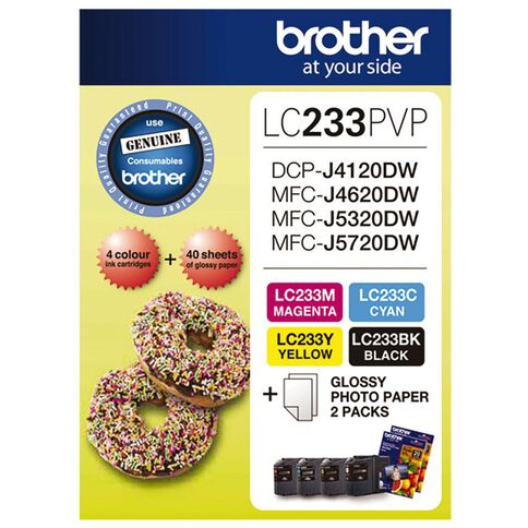 Brother Ink LC233 Photo Value Pack (550 pages)