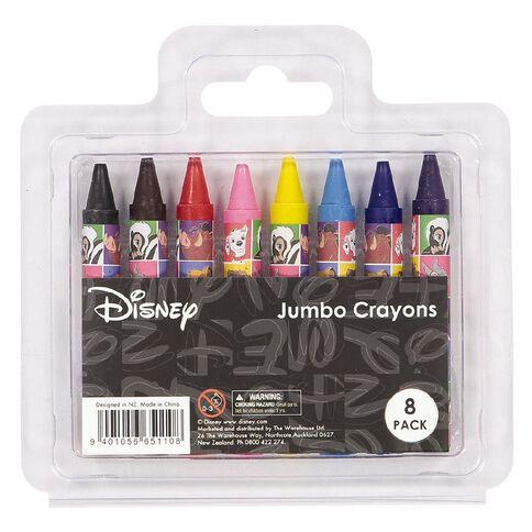 Disney Classics Jumbo Crayons 8 Pack