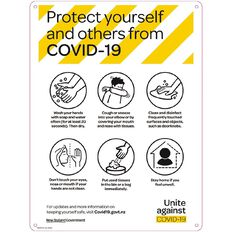 WS COVID Sign PROTECT POSTER ENGLISH