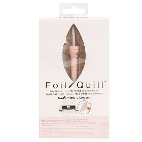 We R Memory Keepers Foil Quill Pens Fine Tip Pen 6 Piece
