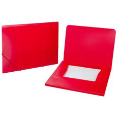 Impact Wallet PP Elastic Red A4