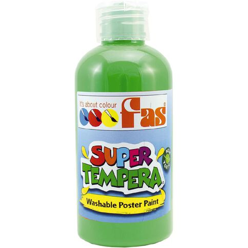 FAS Paint Super Tempera 250ml Green