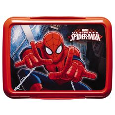 Spider-Man Klip It Lunch Box Red 2L