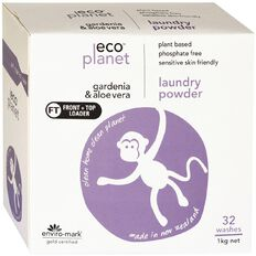 ECO Planet Laundry Powder Gardenia & Aloe Vera 1kg