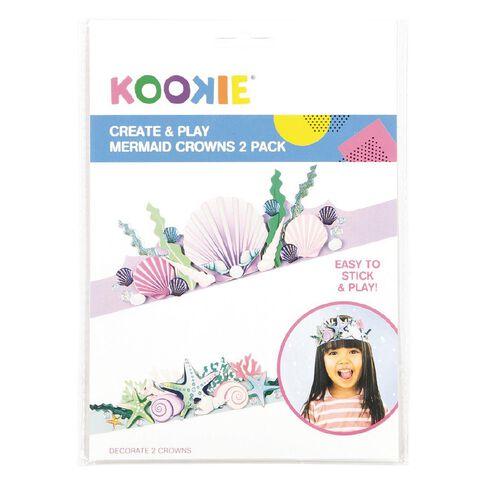 Kookie Create and Play Mermaid Crowns 2 Pack