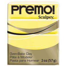 Sculpey Premo Accent Clay 57g Sunshine Yellow