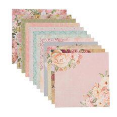 Uniti Designer Paper 12x12in 12 Sheets Floral