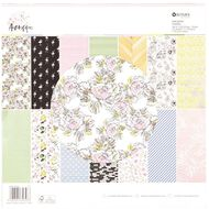 Rosie's Studio Arabesque Designer Papers Pad 42 Sheet 12in x 12in