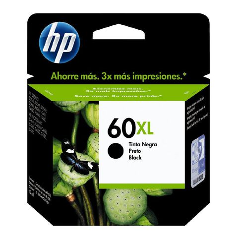 HP Ink Cartridge 60XL Black (600 Pages)