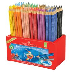 Faber-Castell Caddie 144 Watercolour Grip Colour Pencils