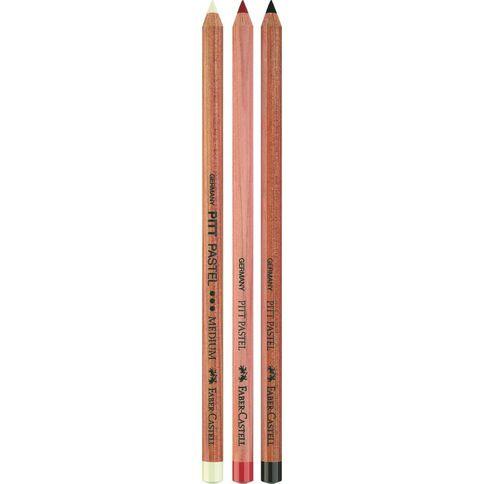 Faber-Castell Pitt Pastel Pencils 3 Pack