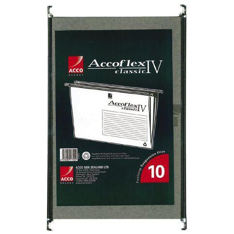 Accoflex Suspension Files Accoflex IV Foolscap Bag of 10 Green