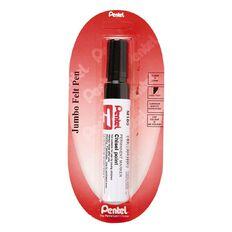 Pentel Marker Jumbo Chisel 13.5mm Black