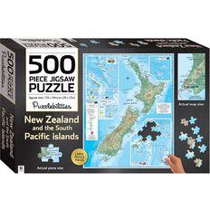 Puzzlebilities New Zealand 500 Piece Jigsaw Puzzle