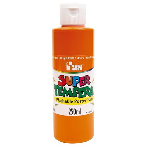 FAS Paint Super Tempera 250ml Orange