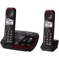 Panasonic Kx-Tgm422Azb Twin Cordless Phone Black