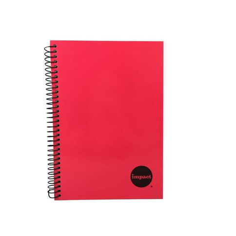 Impact Notebook Wiro Red A5