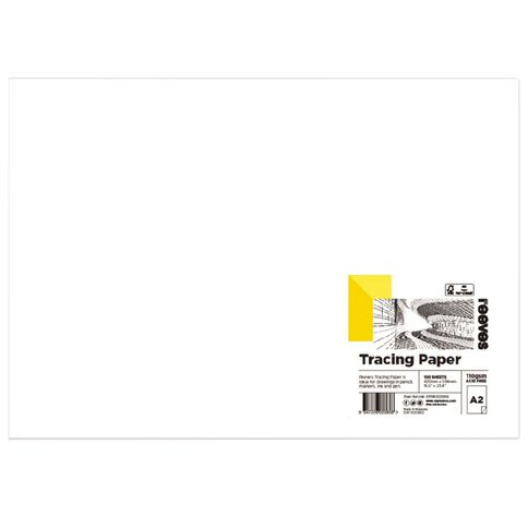 Reeves Tracing Paper 110gsm A2