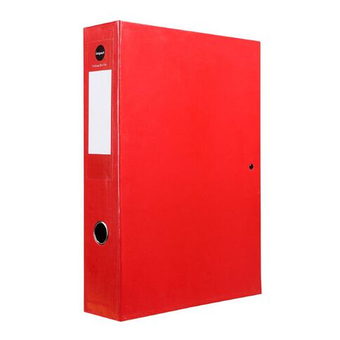 Impact Pressboard Box File Fs Red