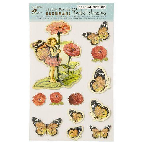Little Birdie Handmade Stickers 3D Fairy Garden