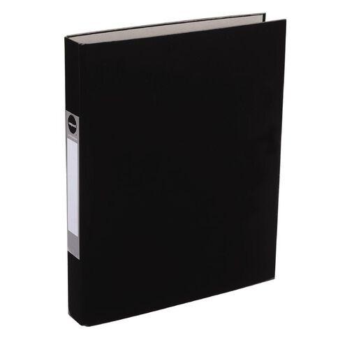 WS Ringbinder 2D 25mm Black A4