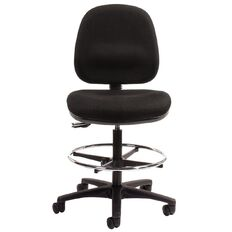 Chair Solutions Aspen Tech Midback Chair Black Black