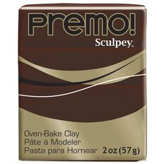 Sculpey Premo Accent Clay 57g Burnt Umber
