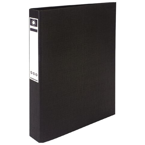 Office Supply Co Ringbinder Black A4