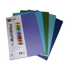 Quill Coloured Paper 80gsm 100 Pack Cold A4