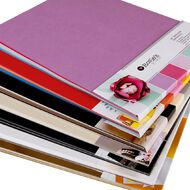 Rosie's Studio Value Cardstock Smooth 220g Brights 12in x 12in 60 Sheet