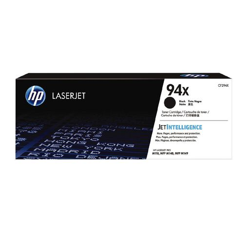 HP Toner 94X Black  (2800 Pages)