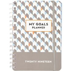 Planner 2019 My Personal Goals Week To View Med
