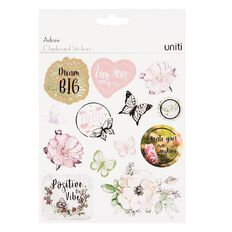 Uniti Adore Chipboard Stickers