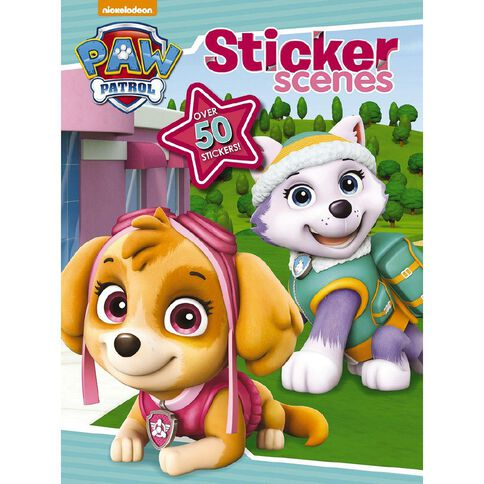 Nickelodeon Paw Patrol Sticker Scenes (Pink Edition)