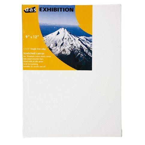 DAS 1.5 Exhibition Canvas 9 x 12in White