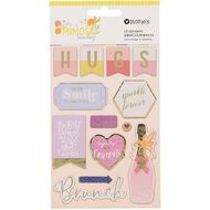 Rosie's Studio Mimosa Sunday Chipboard Embellishments 2 sheets